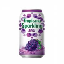 ㉩ 트로피카나 스파클링 (포도)(355ML)