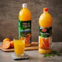 스카시플러스 오렌지+제주감귤(1.5L*2입)