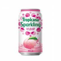 ◆ 트로피카나스파클링복숭아(355ML)