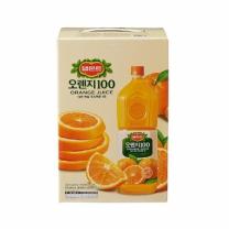 델몬트 오렌지 100 주스(1.8L*4입)