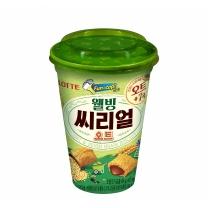 롯데 웰빙 씨리얼 오트컵(89G)