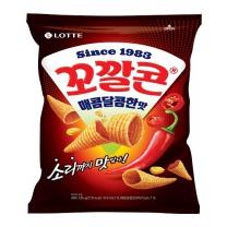 롯데 꼬깔콘 매콤달콤한맛(144G)
