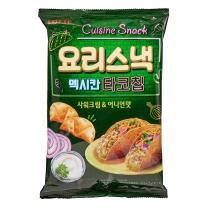롯데 멕시칸 타코칩 사워크림&어니언맛(140G)