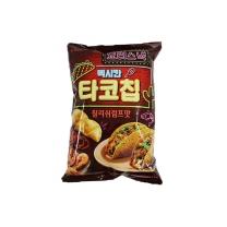 롯데 멕시칸 타코칩 칠리쉬림프맛(140G)