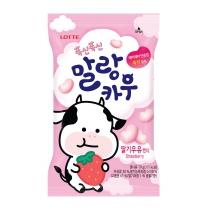 롯데 말랑카우 딸기우유맛(79G)