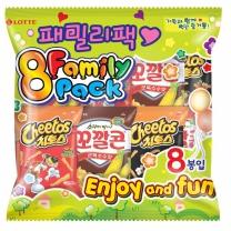 롯데 꼬깔콘+치토스 멀티팩(28G*8입)