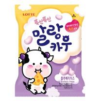 롯데 말랑카우 블루베리 치즈맛(158G)