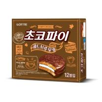 롯데 초코파이 콜드브루모카(30G*12입)