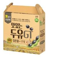 맛있는두유GT 검은콩+17곡(190ML*16입)