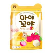 남양 아이꼬야 치즈볼 딸기(17G)