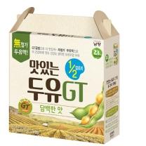 맛있는 두유GT 1/2칼로리 (담백한맛)(190ML*16입)