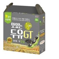 맛있는 두유GT 1/2칼로리 (검은콩깨)(190ML*16입)