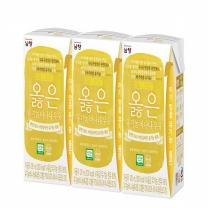 남양 옳은 유기농우유 바나나(120ML*3입)