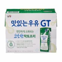 남양유업 GT 고소한 락토프리 우유(180ML*6입)