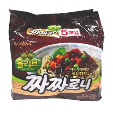 ★모바일 페스타★ 1인2개한정<br>삼양 짜짜로니(5개)