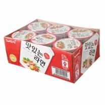 삼양 맛있는 라면 컵(6개)