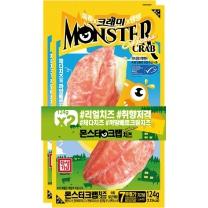 한성 몬스터크랩 치즈(124G*2입)