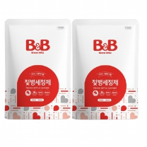 B&B 젖병세정제 (액상형,리필)(500ML*2개)