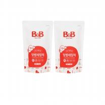 B&B 젖병세정제 (거품형,리필)(400ML*2개)