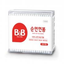 B&B 유아면봉 (사각)