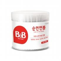 B&B 유아면봉 (원형)