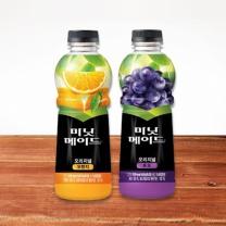 미닛메이드 오리지널 (오렌지+포도)(1.2L*2입)
