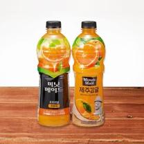 미닛메이드 오리지널 (오렌지+감귤)(1.2L*2입)