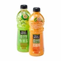 ㉪ 미닛 홈스타일 (오렌지+청포도)(1.2L*2입)