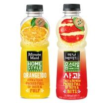 ㉪ 미닛메이드 홈스타일 (오렌지+사과)(1.2L*2입)