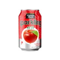 미닛메이드 스파클링(사과, 캔)(345ML)