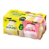 빙그레 바나나맛+딸기맛기획(240ml*6)