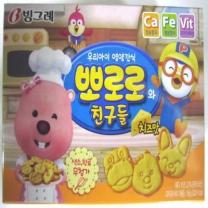 빙그레 뽀로로와친구들 치즈맛(65G)