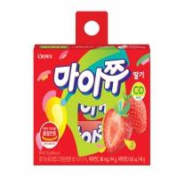 크라운 마이쮸 딸기맛(132G)