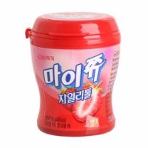크라운 마이쮸 딸기 (용기)(110G)