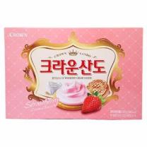 크라운 산도 딸기크림치즈(323G)