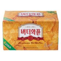 크라운 버터와플(135G*6입)