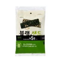 풀무원 블랙 김스낵 (현미기획)(20G*5입)
