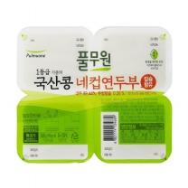 풀무원 국산콩 네컵 연두부(360G)