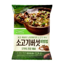 풀무원 소고기버섯비빔밥 (2인)(424G)