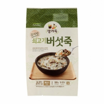 풀무원 소고기버섯죽 (2인)(500G)