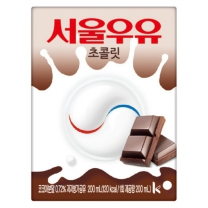 서울 초코 멸균우유(200ML*24)