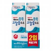 서울 뼈에쏙쏙 고칼슘 우유 기획(930ML*2입)