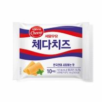 서울 체다 슬라이스 치즈(200G)