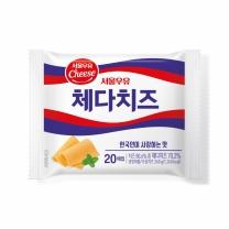 서울 체다 슬라이스 치즈(400G)
