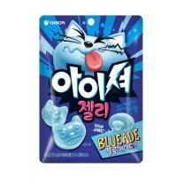 오리온 아이셔젤리 블루에이드맛(49G)
