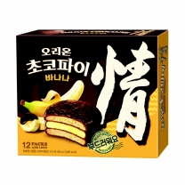오리온 초코파이 바나나(37G*12입)
