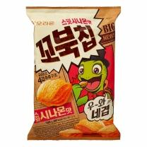 오리온 꼬북칩 스윗시나몬맛(160G)