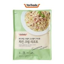 요리하다 치킨 크림 리조또(460G)