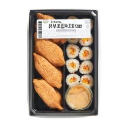 (콕찍어먹는는)유부초밥&꼬마김밥(1팩/335G)