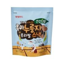 우리쌀 흑미누룽지 스낵(60G)